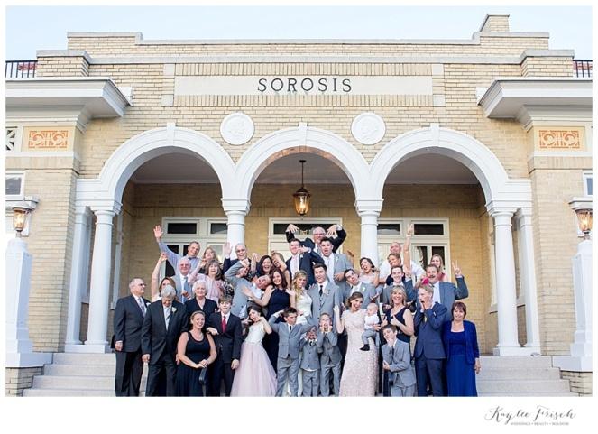 junior league sorosis wedding family